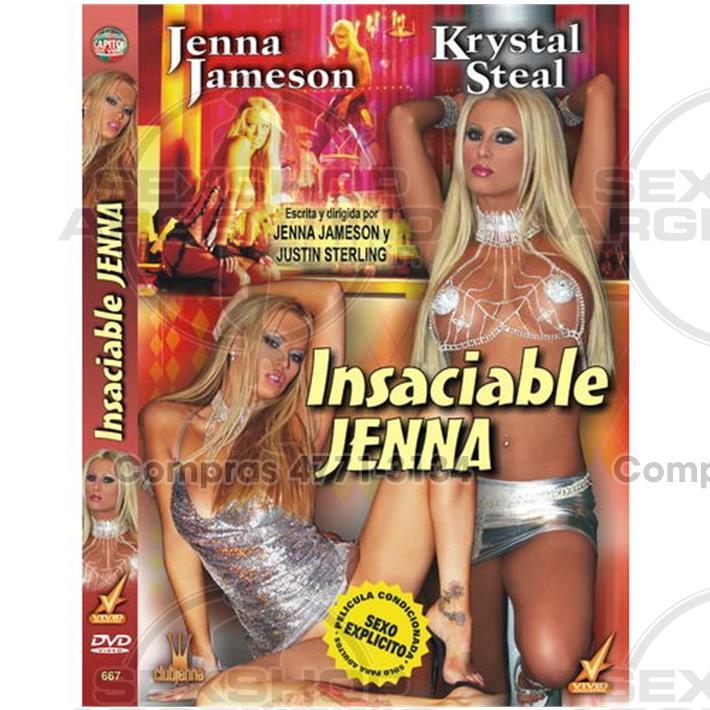 Películas eróticas, Dvd vivid - DVD XXX Insaciable Jenna