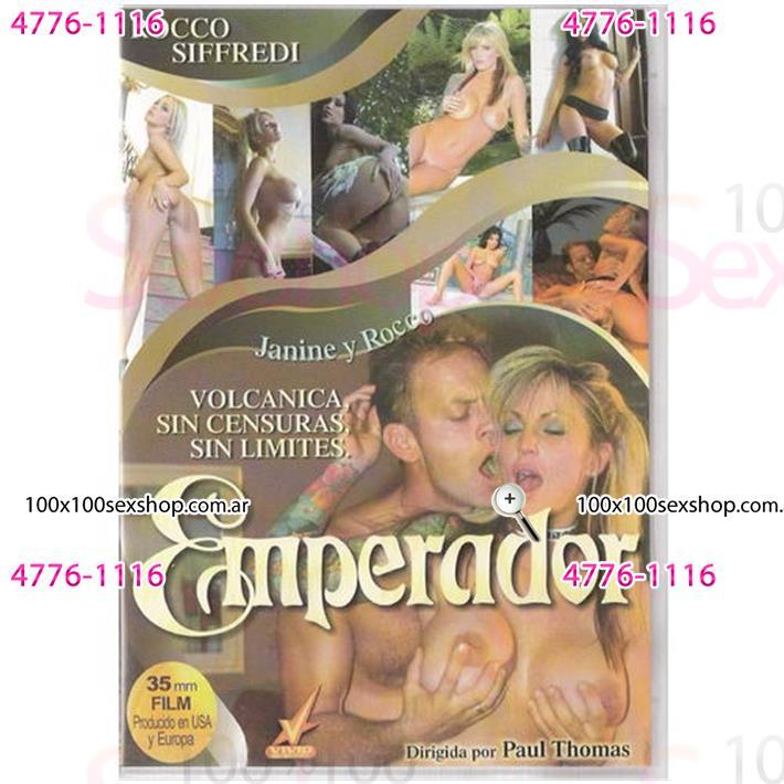 Cód: CA DVDVID-113 - DVD XXX Emperador - $ 200