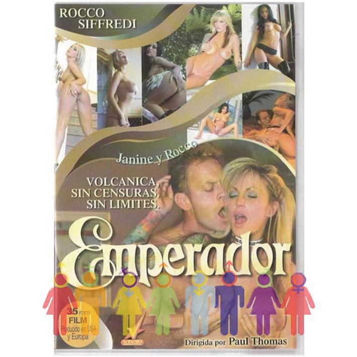 DVD XXX Emperador