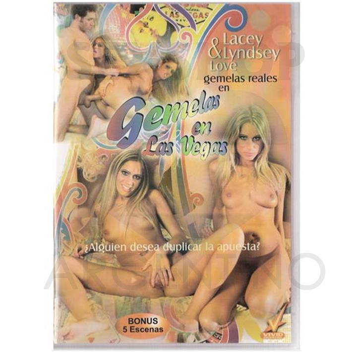 DVD XXX Gemelas En Las Vegas