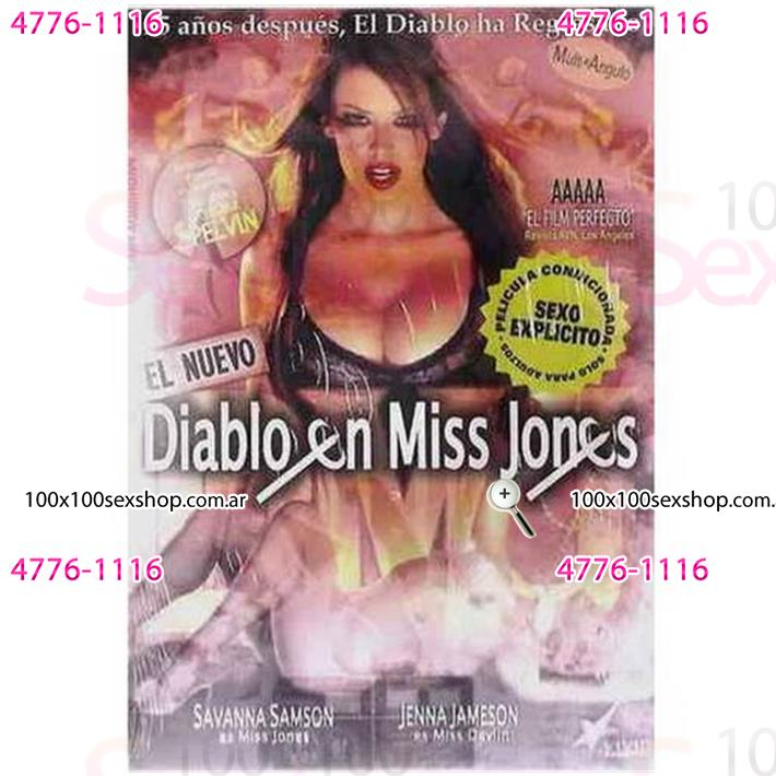 Cód: CA DVDVID-116 - DVD XXX El Diablo En Miss Jones - $ 200