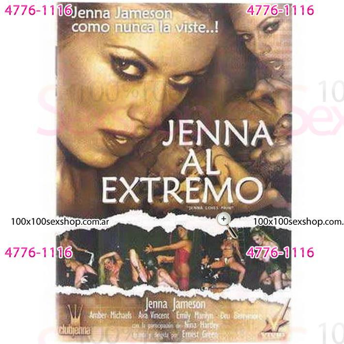 Cód: CA DVDVID-117 - DVD XXX Jenna Al Extremo - $ 200