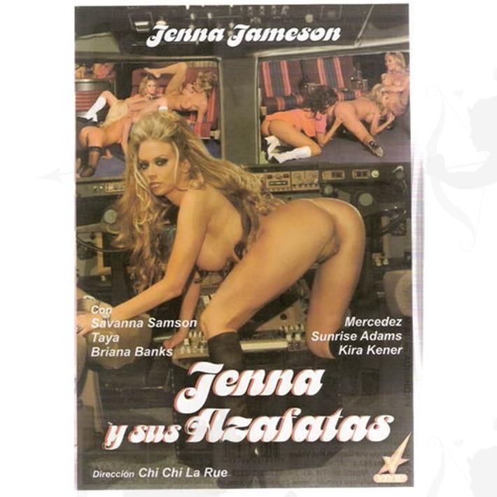 Cód: DVDVID-118 - DVD XXX Jenna Y Sus Fantasias - $ 200