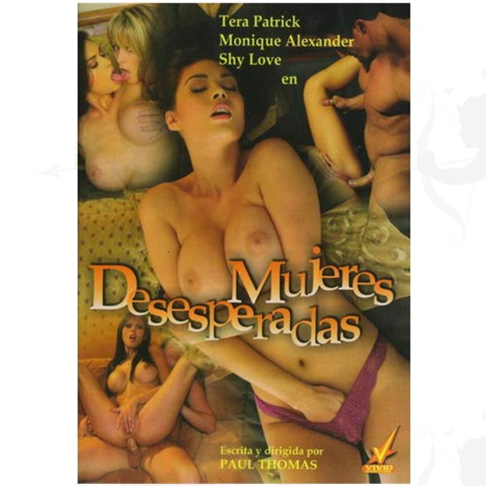 Cód: DVDVID-121 - DVD XXX Mujeres Desesperadas - $ 200