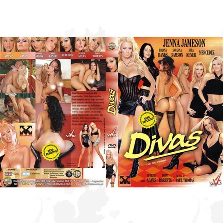 DVD XXX Divas