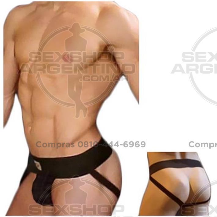 - Slip Suspensor Negro Colaless
