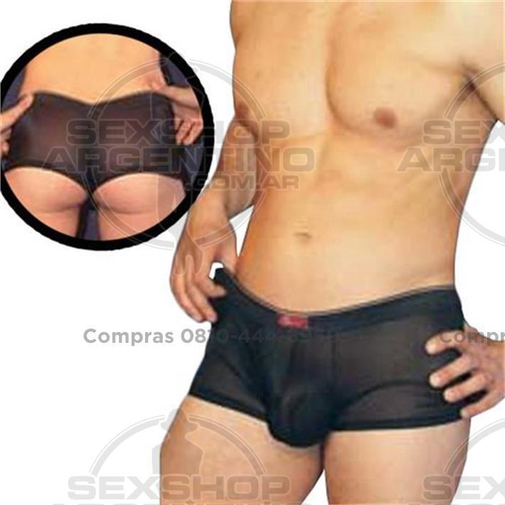 - Boxer de tul elastizado