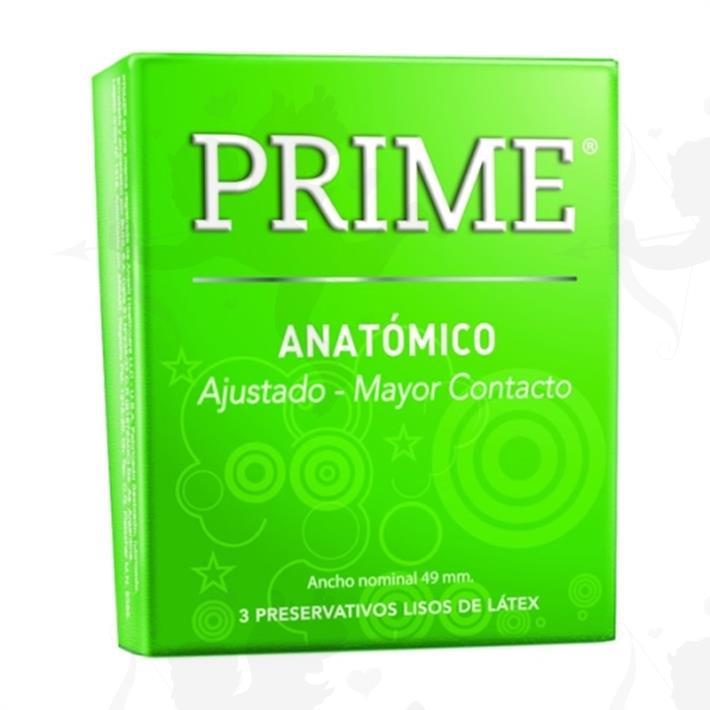 Preservativo Prime Anatomico