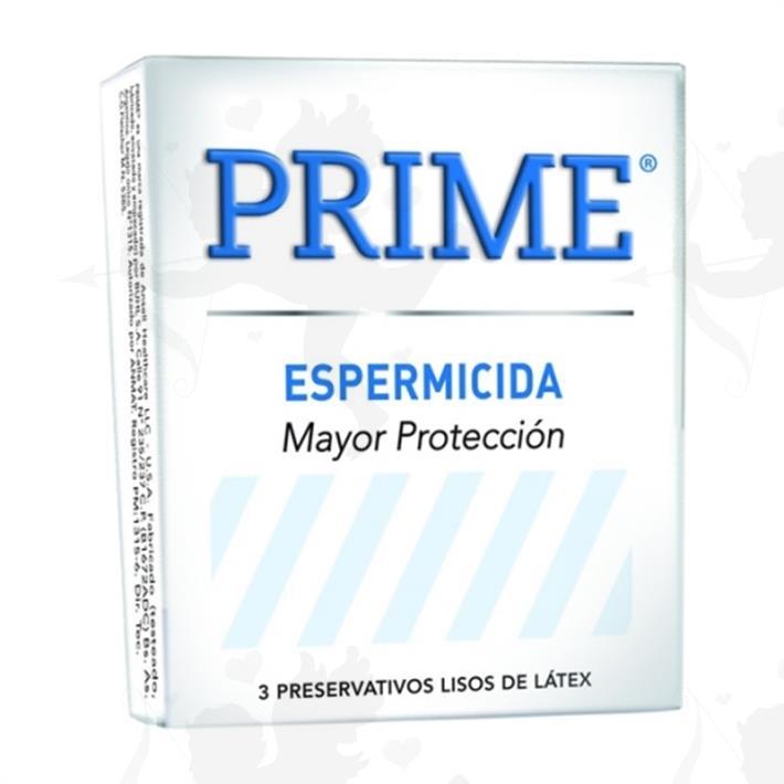 Preservativos Prime Espermicida
