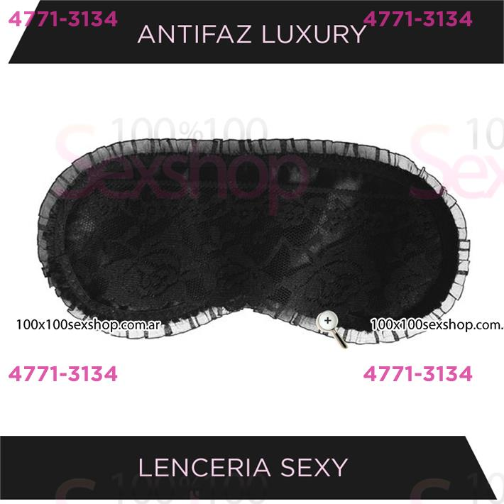 Cód: CA GALN - Antifaz sexitive Negro - $ 1280