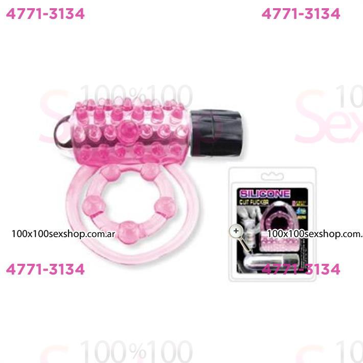 Cód: CA IMA5 - Anillo estimulador de clítoris con vibración y mantensor de testículos - $ 1740