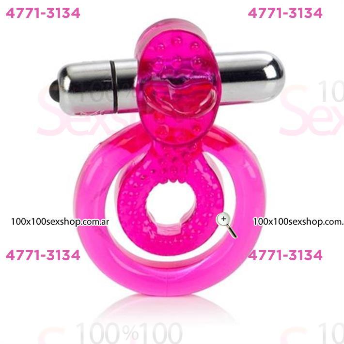 Cód: CA IMA6 - Anillo estimulador de clitoris y retrasador de eyaculacion - $ 1600