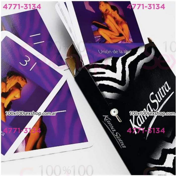 Cód: CA JUENAIPES - Juego de naipes eróticos Kamasutra - $ 210