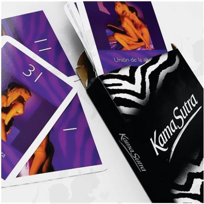 Cód: JUENAIPES - Juego de naipes eróticos Kamasutra - $ 250