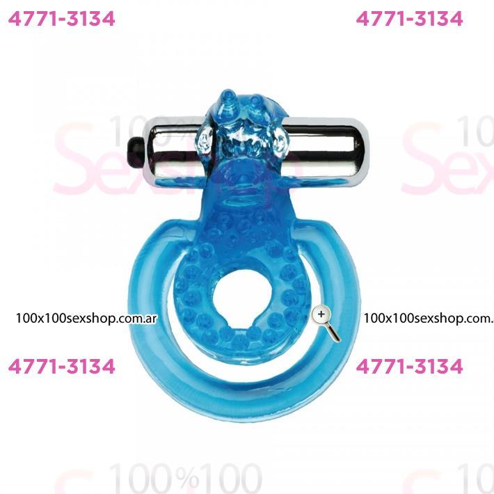 Cód: CA LV-1950-5 - Anillo para mantener la erección y estimular el clítoris con vibrador - $ 2420