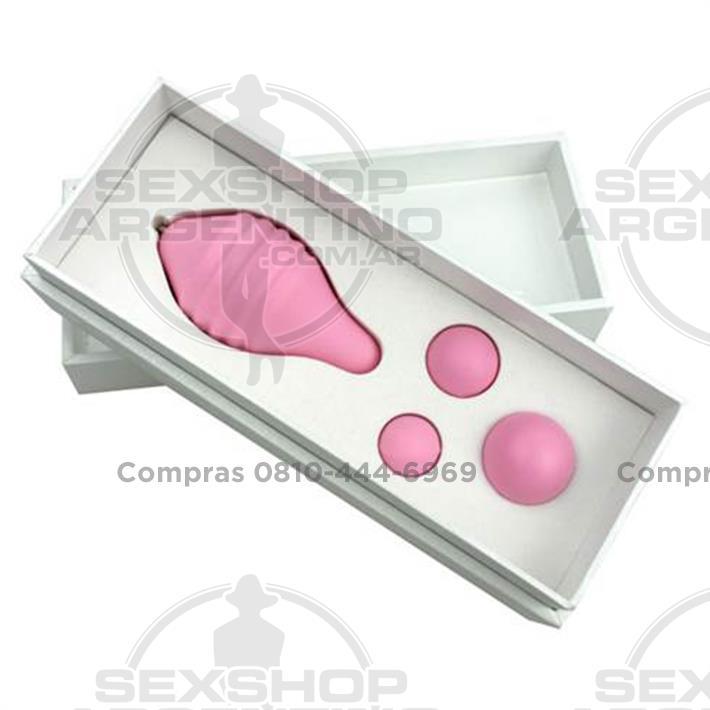 - Ejercitador del suelo pelvico PELVIX CONCEPT con 3 pesas diferentes