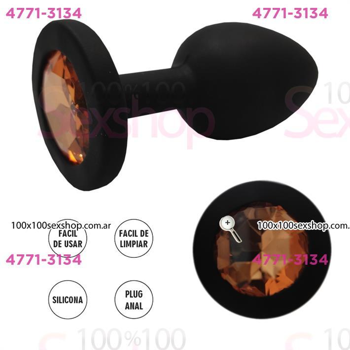 Cód: CA SS-AD-70464 - Joya anal de silicona - $ 2500