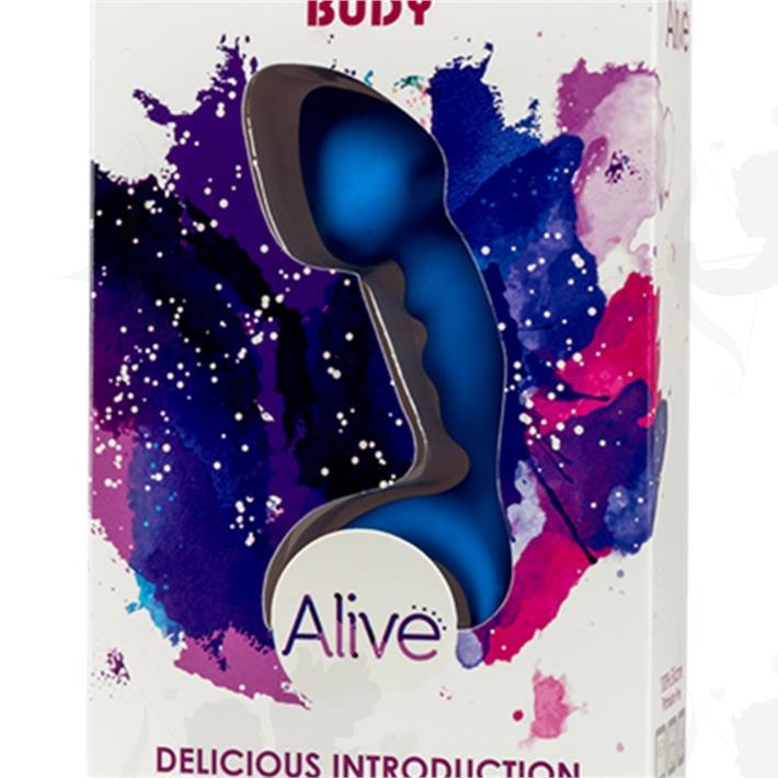 Dilatador anal flexible curvo