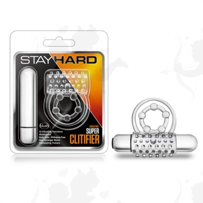 Cód: SS-BL-90912 - Anillo retardador y estimulador con bala vibradora de 10 veloc. - $ 2610