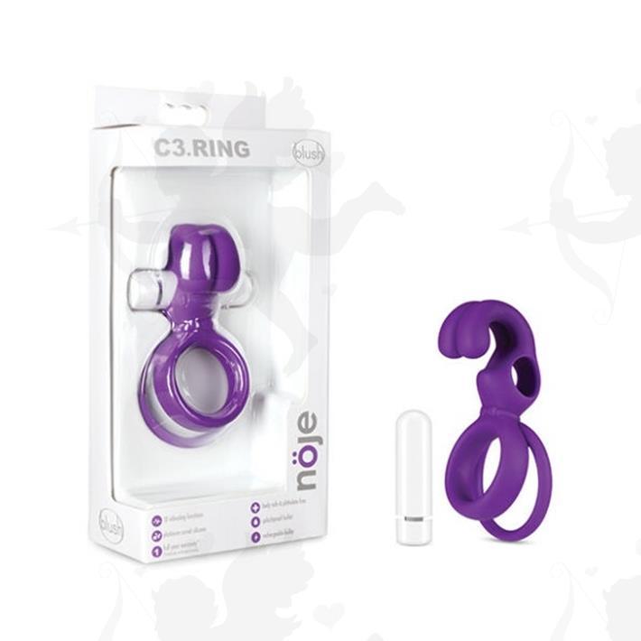 Anillo estimulador de clitoris y retrasador de la eyaculacion