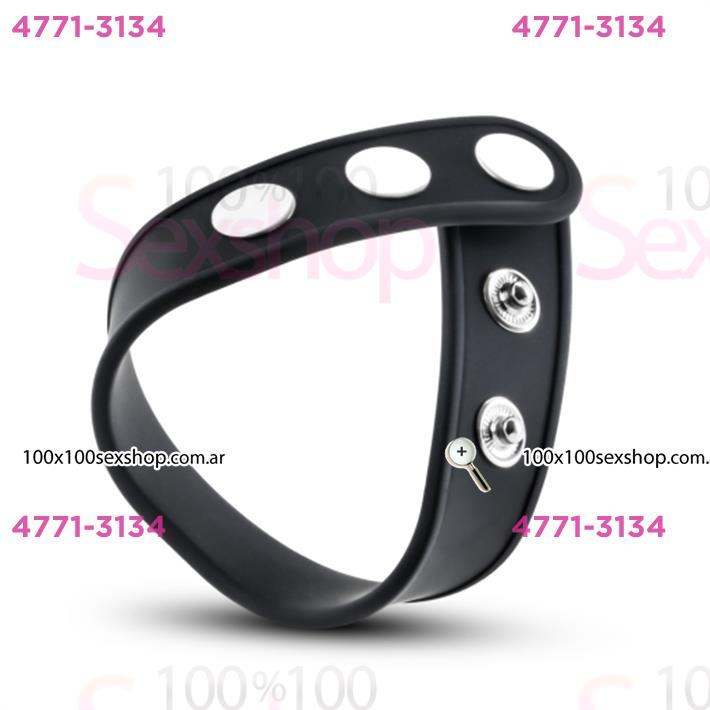 Cód: CA SS-BL-91705 - Anillo retardador de eyaculacion de silicona - $ 800