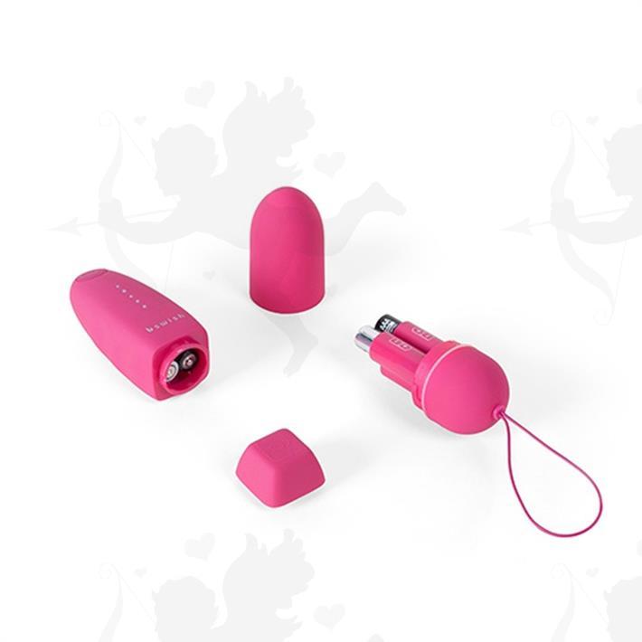Bala vibradora estimuladora con control inalambrico