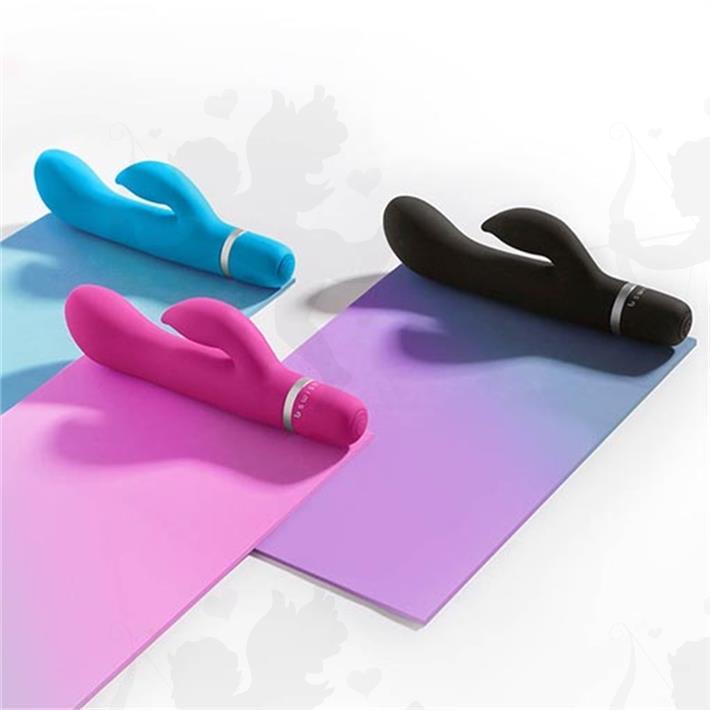 Estimulador de punto g y clitoris vibrador siliconado