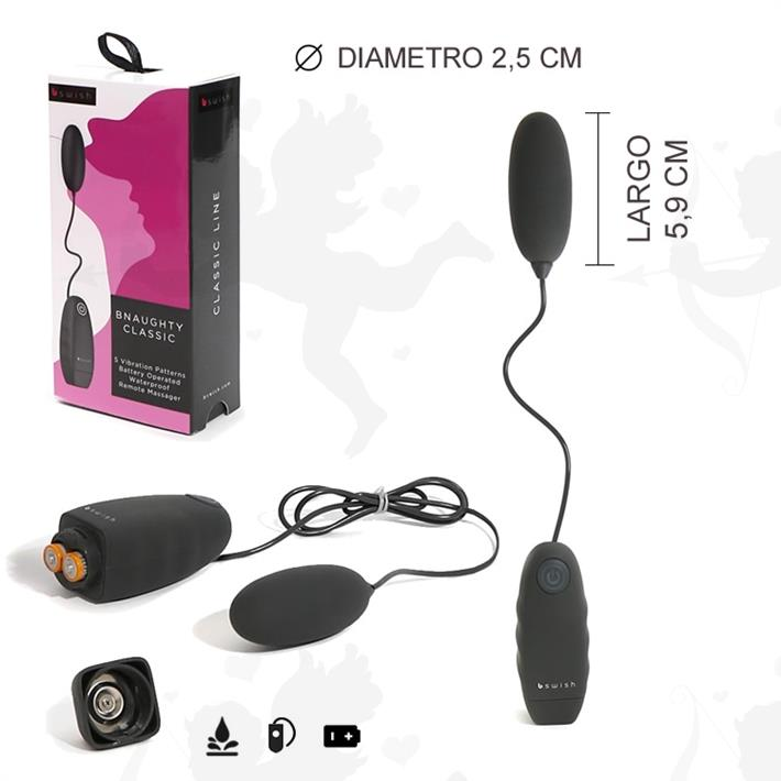Bala vibrador con control de varias velocidades