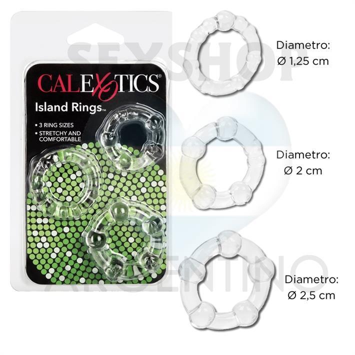 Kit de 3 anillos
