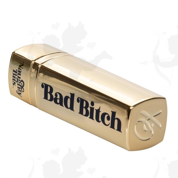 Vibrador lápiz labial Bad Bitch con carga USB