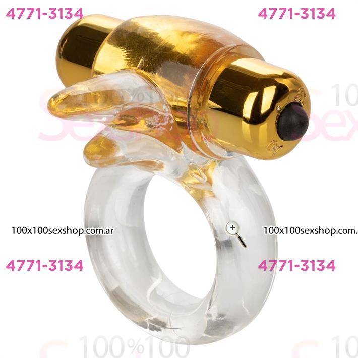 Cód: CA SS-CA-8939-20-3 - Anillo con vibrador Gold - $ 2880