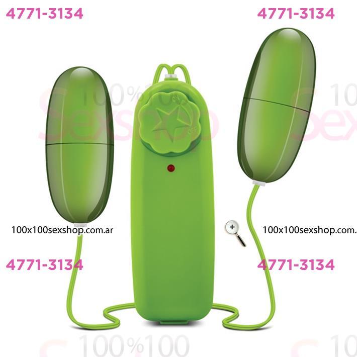 Cód: CA SS-ED-25522 - Bala vibradora doble con control remoto sumergible - $ 1680