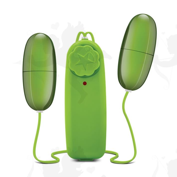 Cód: SS-ED-25522 - Bala vibradora doble con control remoto sumergible - $ 2680
