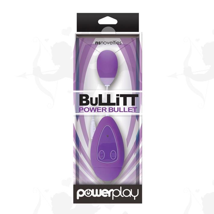 Cód: SS-NO-0317-15 - Power Play Bala vibradora 10 velocidades - $ 2820