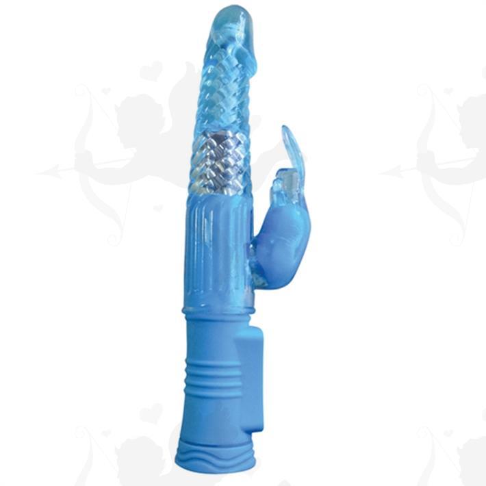 Cód: SS-NO-0330-17 - Vibrador Rotativo 4PLAY con conejo estimulador de clítoris - $ 5005