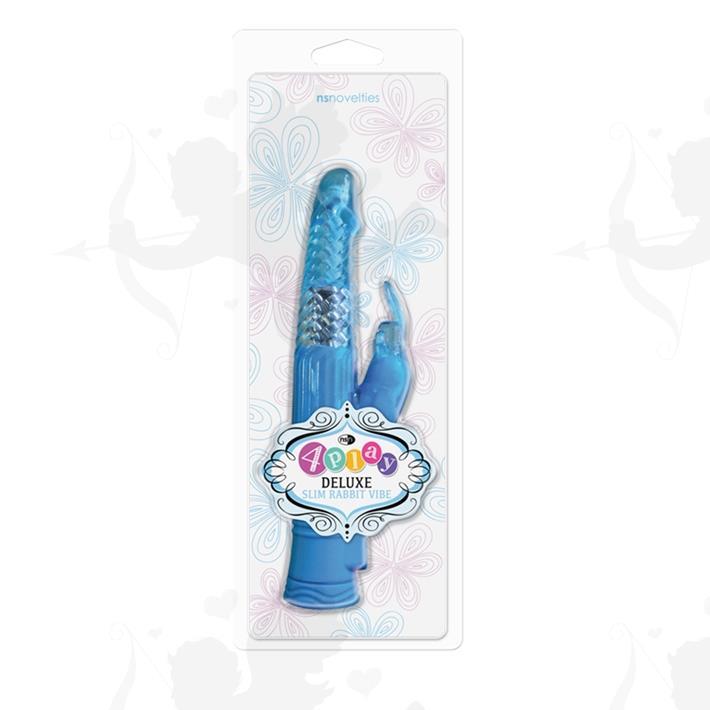 Cód: SS-NO-0330-17 - Vibrador Rotativo 4PLAY con conejo estimulador de clítoris - $ 3690