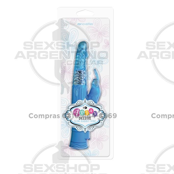 Estimuladores, Estimuladores femeninos - Vibrador Rotativo 4PLAY con conejo estimulador de clítoris