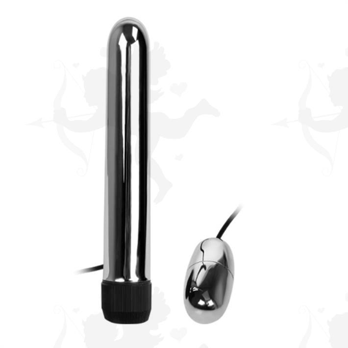 Vibrador rigido con bala vibradora externa