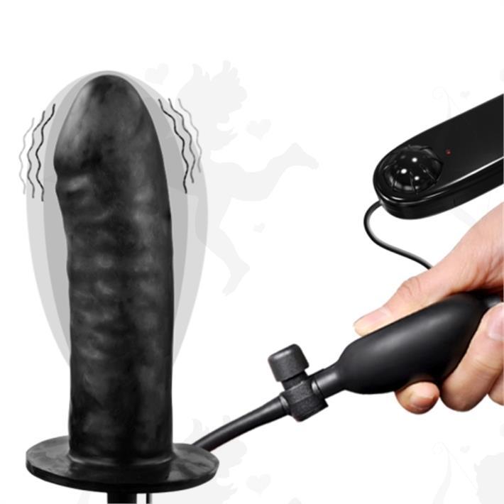 Pene inflable con vibrador