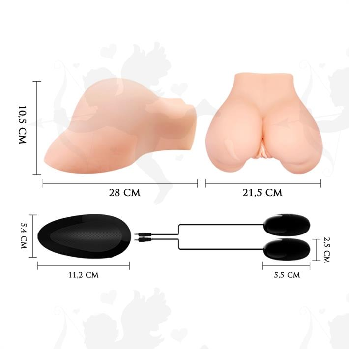 Vagina cyberskyn con motor de vibracion