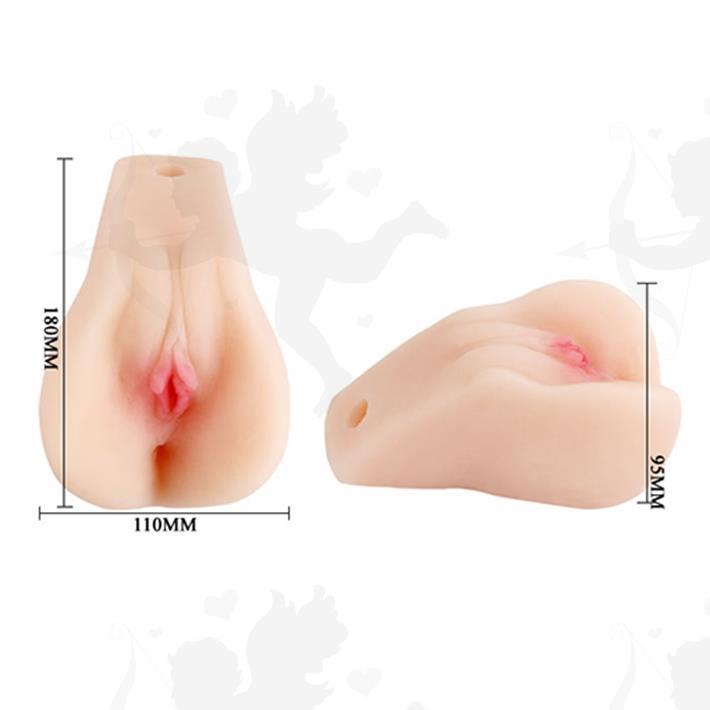 Vagina y ano realistica con vibrador