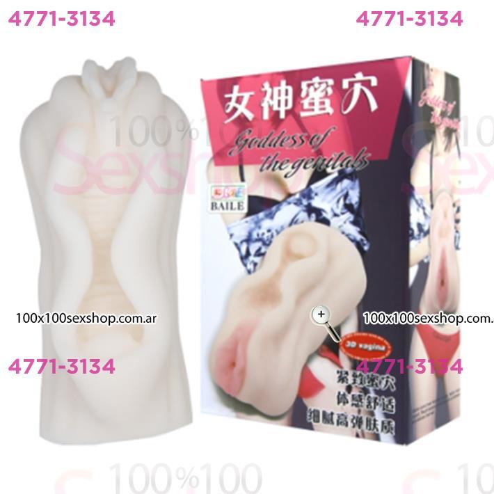 Cód: CA SS-PL-009184 - Masturbador manual en forma de vagina - $ 3070