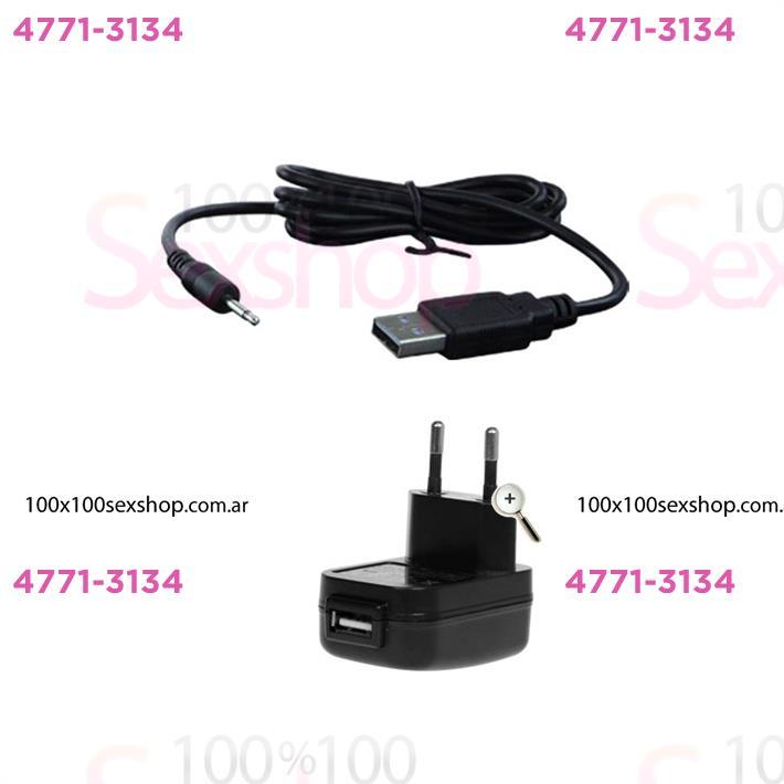 Masajeador de punto G con 10 velocidades y carga USB