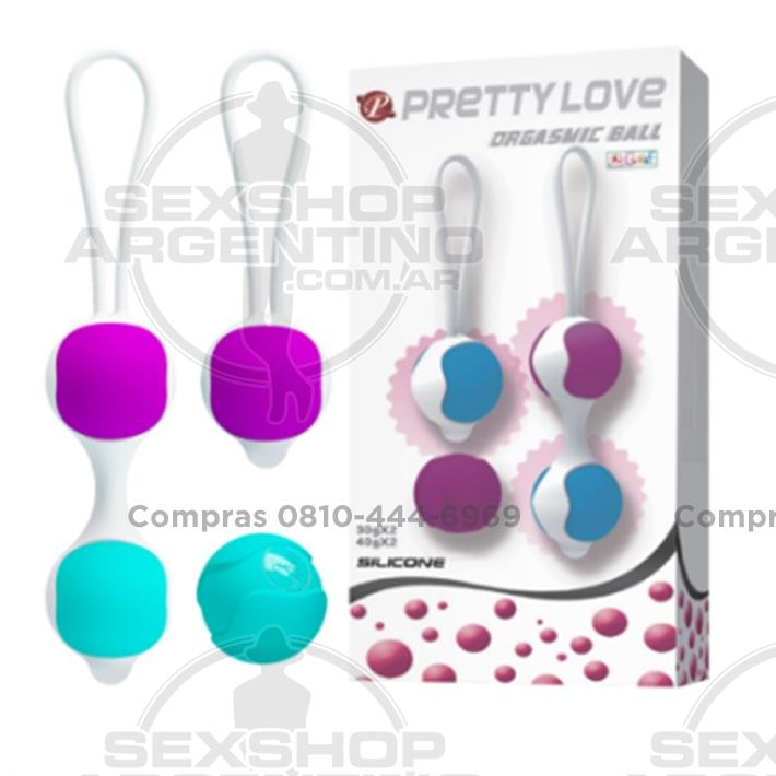 Productos eróticos, Bolitas chinas - Juego de bolitas chinas intercambiables de 30 y 40 gramos