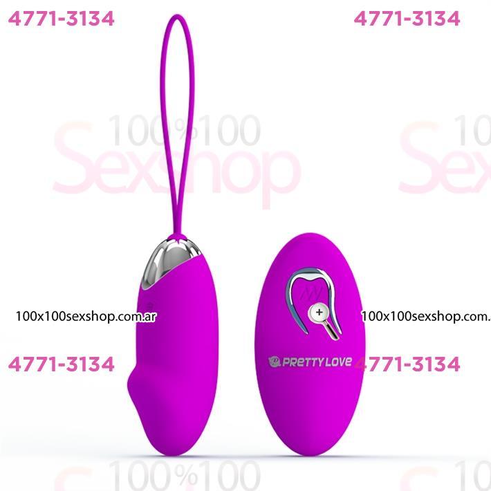 Cód: CA SS-PL-014362-4 - Bala vibradora con control remoto y carga USB - $ 6090