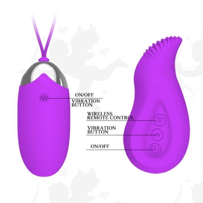 Bala vibradora con control inalambrico y carga USB