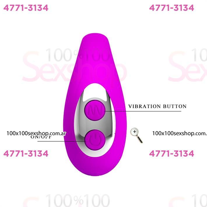 Vibrador para sexo oral con 7 modos de vibracion y carga usb