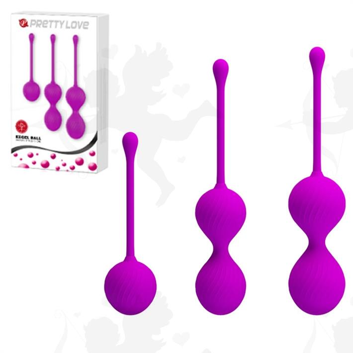 Cód: SS-PL-014505 - Kit x 3 de bolas chinas de 3 tamaños - $ 2950