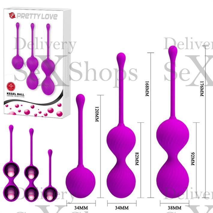 Kit x 3 de bolas chinas de 3 tamaños