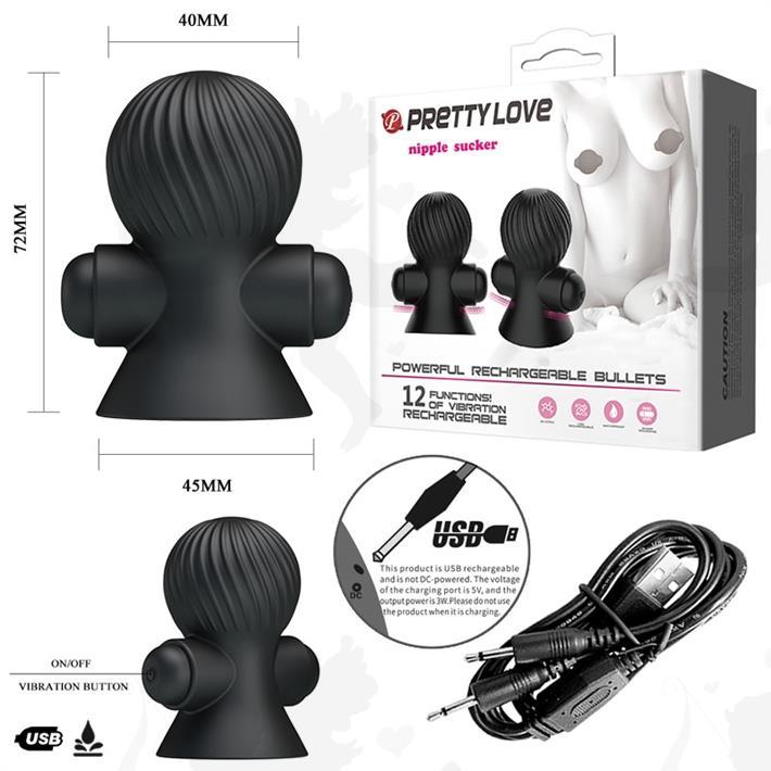 Cód: SS-PL-014545 - Succionador de pezones con 12 modos de vibracion - $ 6410